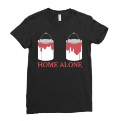 home alone paint can Ladies Fitted T-Shirt | Artistshot