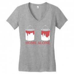home alone paint can Women's V-Neck T-Shirt | Artistshot
