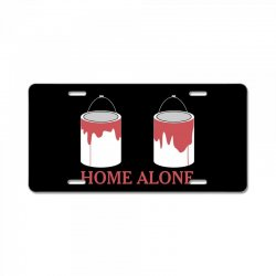 home alone paint can License Plate | Artistshot