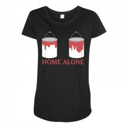 home alone paint can Maternity Scoop Neck T-shirt | Artistshot