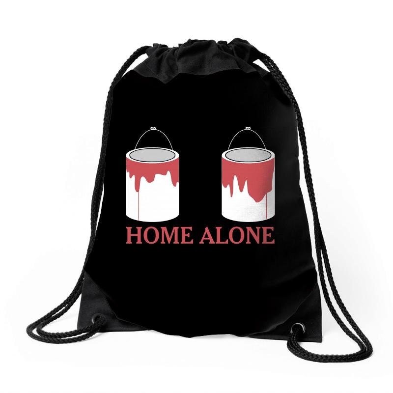 Home Alone Paint Can Drawstring Bags | Artistshot