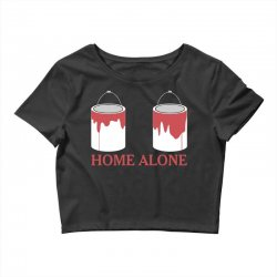 home alone paint can Crop Top | Artistshot