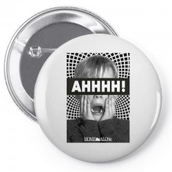home alone kevin ahh Pin-back button | Artistshot