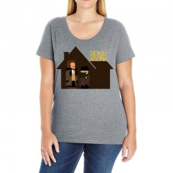 home alone harry and marv Ladies Curvy T-Shirt | Artistshot