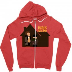 home alone harry and marv Zipper Hoodie | Artistshot