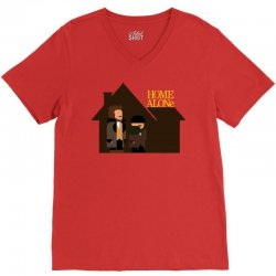 home alone harry and marv V-Neck Tee | Artistshot