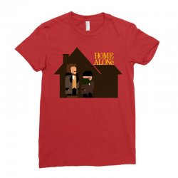 home alone harry and marv Ladies Fitted T-Shirt | Artistshot