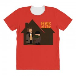 home alone harry and marv All Over Women's T-shirt | Artistshot