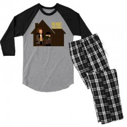 home alone harry and marv Men's 3/4 Sleeve Pajama Set | Artistshot