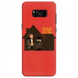 home alone harry and marv Samsung Galaxy S8 Case | Artistshot