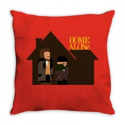 home alone harry and marv Throw Pillow | Artistshot