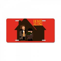 home alone harry and marv License Plate | Artistshot