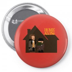 home alone harry and marv Pin-back button | Artistshot