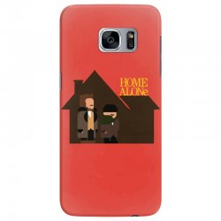 home alone harry and marv Samsung Galaxy S7 Edge Case | Artistshot