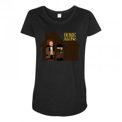 home alone harry and marv Maternity Scoop Neck T-shirt | Artistshot