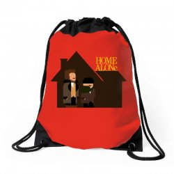 home alone harry and marv Drawstring Bags | Artistshot