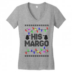 his margo for light Women's V-Neck T-Shirt | Artistshot