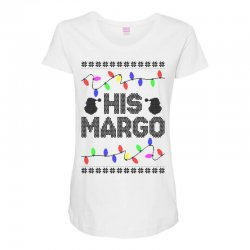 his margo for light Maternity Scoop Neck T-shirt | Artistshot