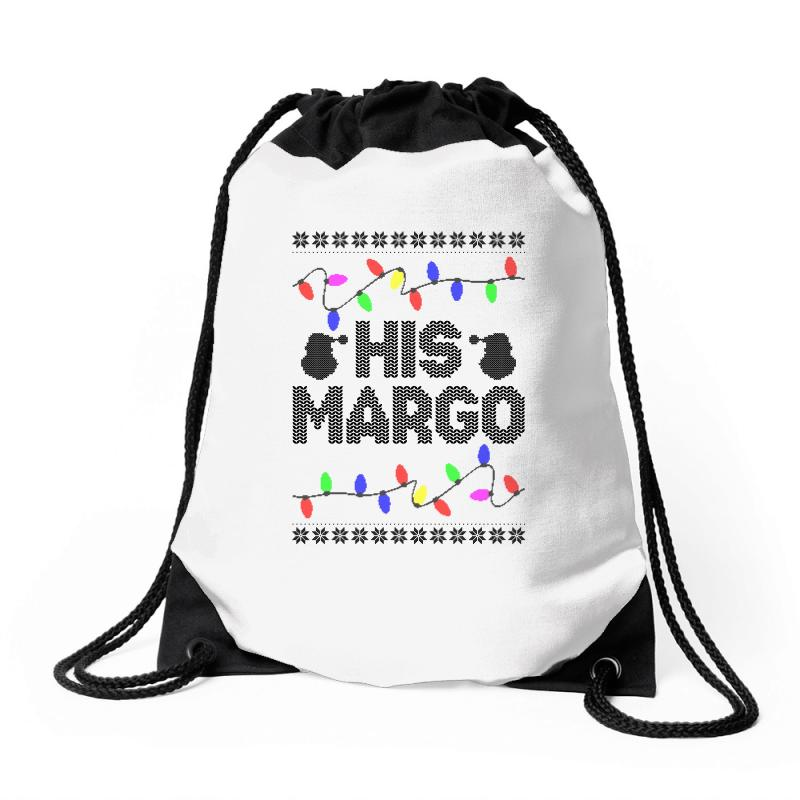 His Margo For Light Drawstring Bags | Artistshot