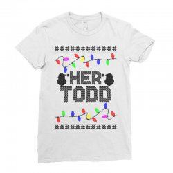 her todd for light Ladies Fitted T-Shirt   Artistshot