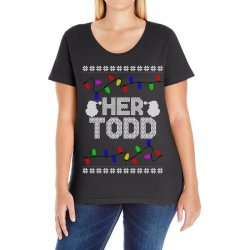 her todd for dark Ladies Curvy T-Shirt | Artistshot