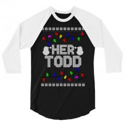 her todd for dark 3/4 Sleeve Shirt | Artistshot