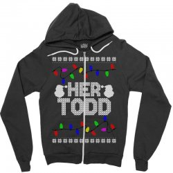 her todd for dark Zipper Hoodie | Artistshot