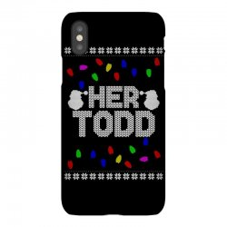 her todd for dark iPhoneX | Artistshot