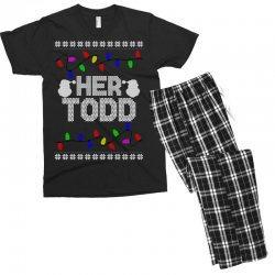 her todd for dark Men's T-shirt Pajama Set | Artistshot