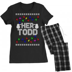 her todd for dark Women's Pajamas Set | Artistshot