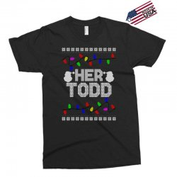 her todd for dark Exclusive T-shirt | Artistshot