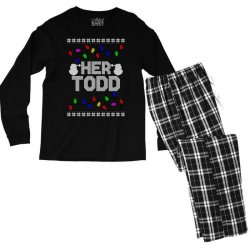 her todd for dark Men's Long Sleeve Pajama Set | Artistshot