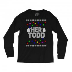 her todd for dark Long Sleeve Shirts | Artistshot