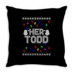 her todd for dark Throw Pillow | Artistshot