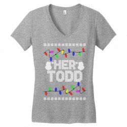 her todd for dark Women's V-Neck T-Shirt | Artistshot