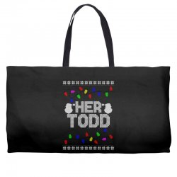 her todd for dark Weekender Totes | Artistshot