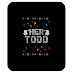 her todd for dark Mousepad | Artistshot