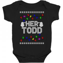 her todd for dark Baby Bodysuit | Artistshot