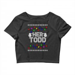 her todd for dark Crop Top | Artistshot