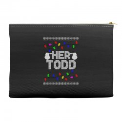 her todd for dark Accessory Pouches | Artistshot