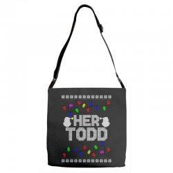her todd for dark Adjustable Strap Totes | Artistshot