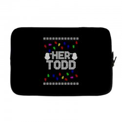 her todd for dark Laptop sleeve | Artistshot