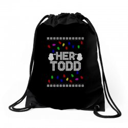 her todd for dark Drawstring Bags | Artistshot