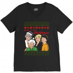 Golden Girls Christmas V-Neck Tee | Artistshot