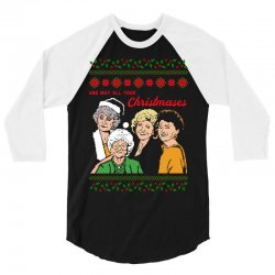 Golden Girls Christmas 3/4 Sleeve Shirt | Artistshot