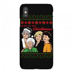 Golden Girls Christmas iPhoneX Case | Artistshot