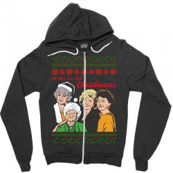 Golden Girls Christmas Zipper Hoodie | Artistshot