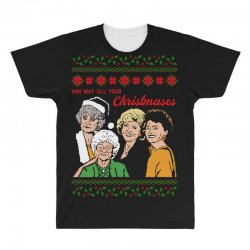 Golden Girls Christmas All Over Men's T-shirt | Artistshot
