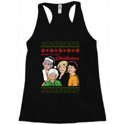 Golden Girls Christmas Racerback Tank | Artistshot