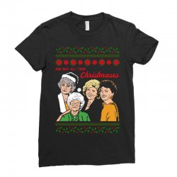 Golden Girls Christmas Ladies Fitted T-Shirt | Artistshot